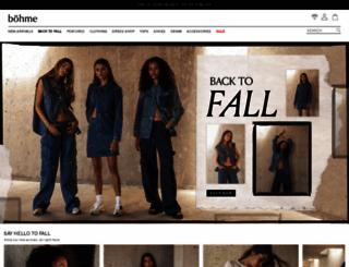 bohme.com screenshot