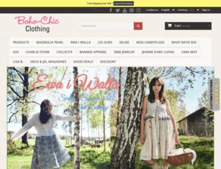 boho-chic-clothing.com screenshot