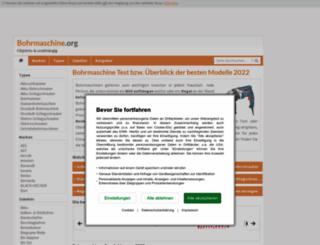 bohrmaschine.org screenshot