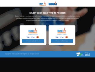 boistarrewardz.com screenshot