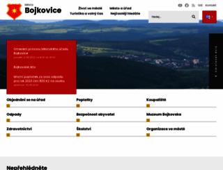 bojkovice.cz screenshot