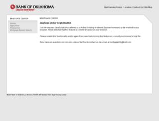bok.mortgagewebcenter.com screenshot