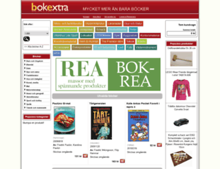 bokextra.se screenshot