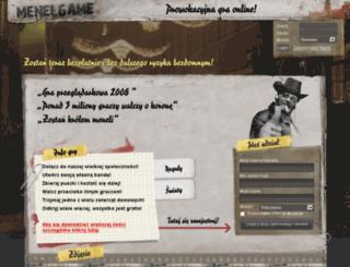 bokser12.krakow.menelgame.pl screenshot