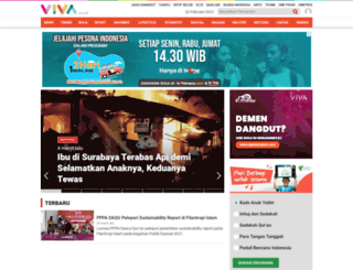bola.viva.co.id screenshot
