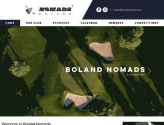 bolandnomads.co.za screenshot