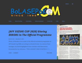 bolasepako.com screenshot