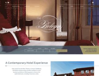 boleynhotel.com screenshot