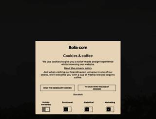 bolia.com screenshot