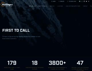 bollingershipyards.com screenshot