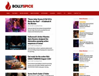 bollyspice.com screenshot