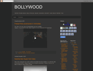 bollywood.blogspot.com screenshot