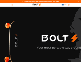 boltmotion.com screenshot