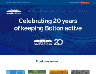 boltonarena.com screenshot
