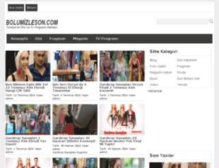 bolumizleson.com screenshot
