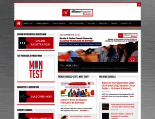 bombay.afindia.org screenshot