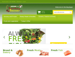 bombaybazar.ie screenshot