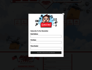 bombinoexp.com screenshot