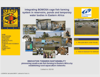 bomosa.oeaw.ac.at screenshot