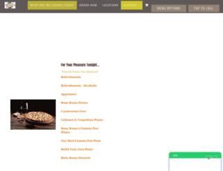 bonaroma.com screenshot