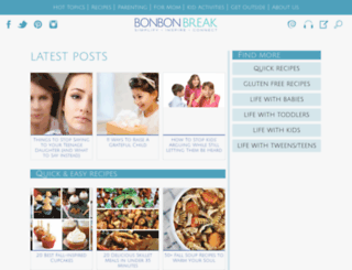bonbonbreak.com screenshot
