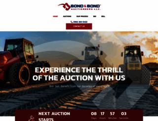 bondauctioneers.com screenshot