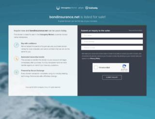 bondinsurance.net screenshot