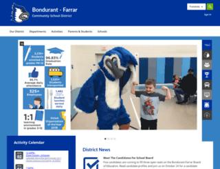 bondurant.k12.ia.us screenshot