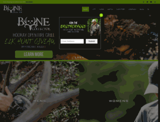bonecollector.com screenshot
