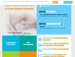 bonemploi.synapse-entreprises.com screenshot