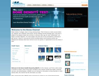 bones.emedtv.com screenshot