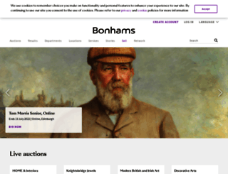bonhams.com screenshot