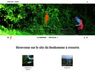 bonhomme-a-ressorts.com screenshot