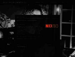 bonnefoi.nl screenshot