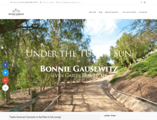 bonniegausewitz.com screenshot