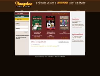 boogaloopublishing.com screenshot