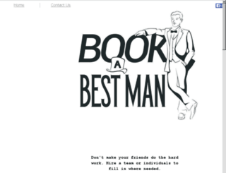 bookabestman.com screenshot