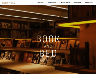 bookandbedtokyo.com screenshot