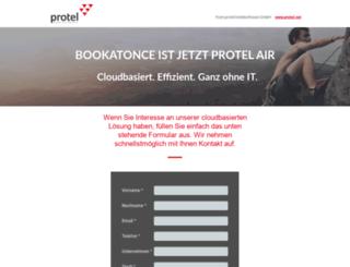 bookatonce.com screenshot