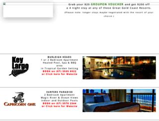 bookbettergoldcoastaccommodation.com.au screenshot
