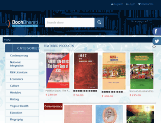 bookbharati.com screenshot