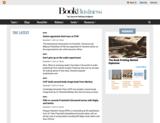 bookbusinessmag.com screenshot