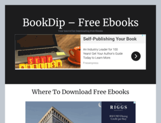 bookdip.com screenshot