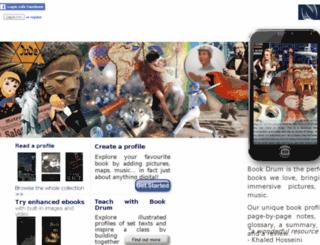 bookdrum.com screenshot