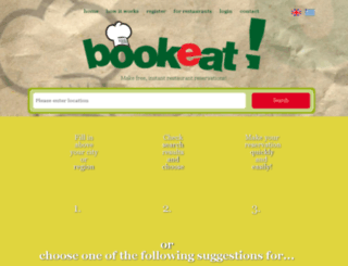 bookeat.gr screenshot