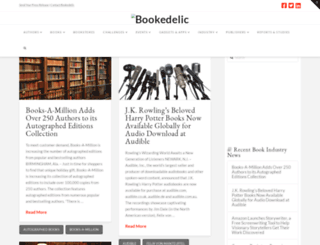 bookedelic.com screenshot