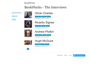 bookflocks.com screenshot