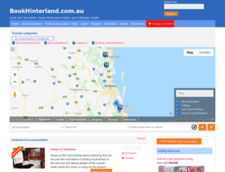 bookhinterland.com.au screenshot