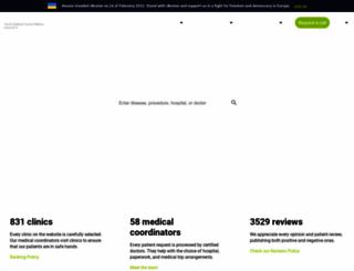 bookimed.com screenshot
