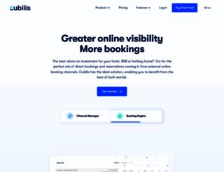booking.cubilis.eu screenshot